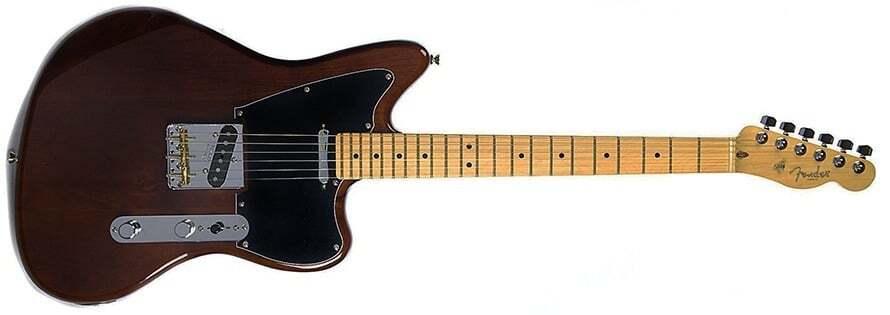 fender ltd offset professional telecaster electric guitar walnut electric guitar in case. Black Bedroom Furniture Sets. Home Design Ideas