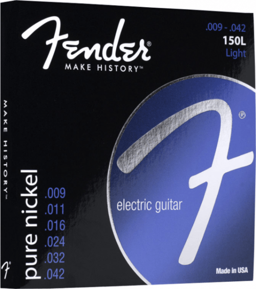fender 150xl pure nickel ball end 9 40 electric guitar strings mooloolaba music australia. Black Bedroom Furniture Sets. Home Design Ideas