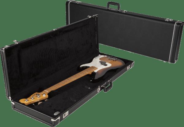fender multi fit precision bass guitar case only black tolex w black interior mooloolaba music aus. Black Bedroom Furniture Sets. Home Design Ideas