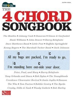 The 4 Chord Songbook Strum & Sing Guitar Chords & Lyrics ...