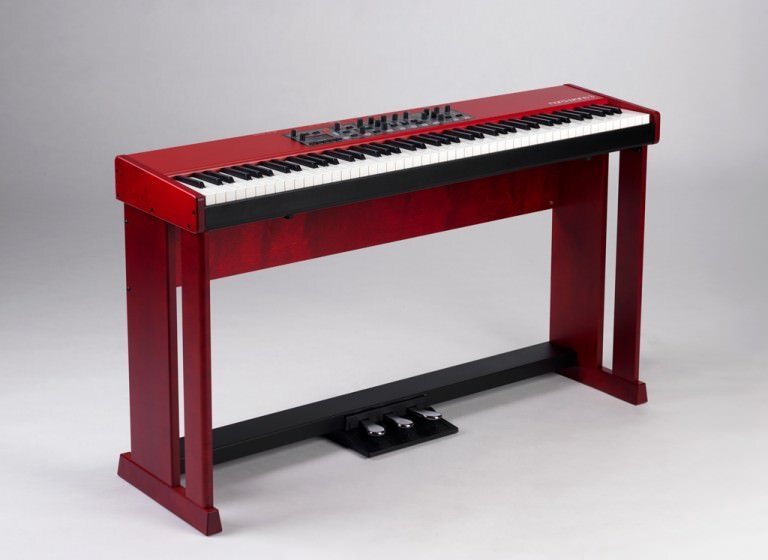 nord wood keyboard stand for nord piano 88 stage 88 mooloolaba music australia. Black Bedroom Furniture Sets. Home Design Ideas