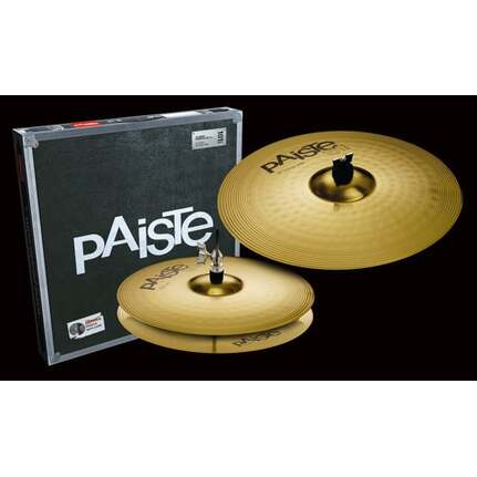 Paiste 101 Brass Essential Set (14/18) Cymbal Set