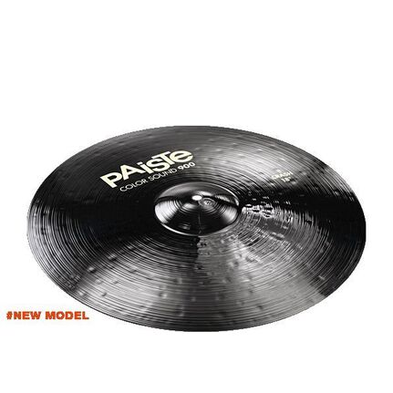 Paiste 18 Inch 900 Color Black Crash Cymbal