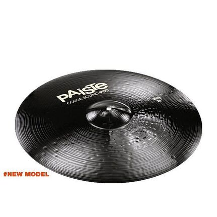 Paiste 22 Inch 900 Color Black Ride Cymbal