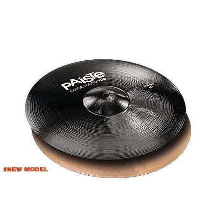 Paiste 14 Inch 900 Color Sound Black Hi-Hat Cymbal