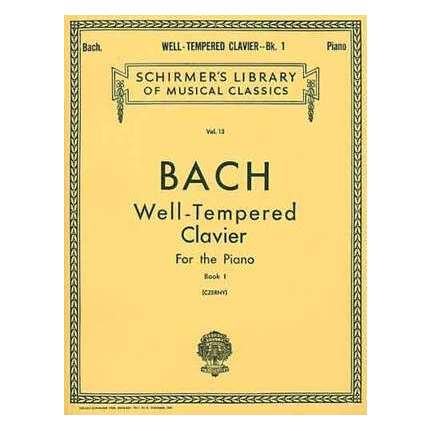Bach - Preludes And Fugues Bk 1