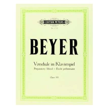 Beyer - Preparatory School Op 101