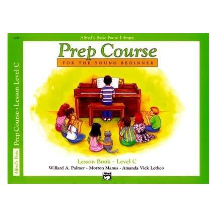 Alfred's Basic Piano Prep Course Lesson Level C