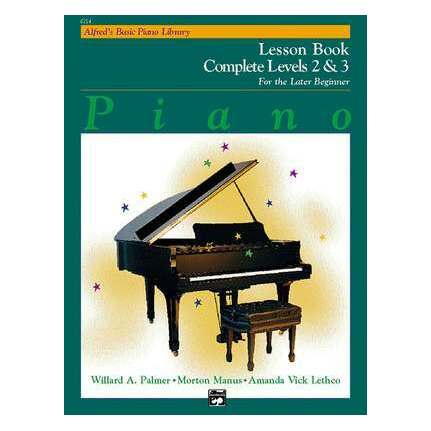 Alfred's Basic Piano Lesson Complete Level 2 And 3