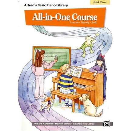 Alfred's Basic Piano All In One Course Bk 3