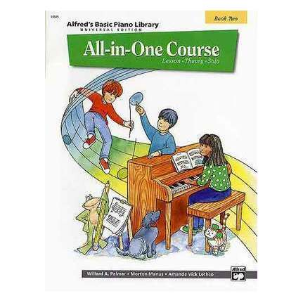 Alfred's Basic Piano All In One Course Bk 2