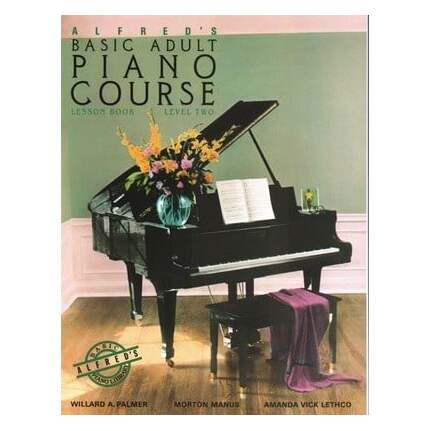 Alfred's Basic Adult Piano Lesson Level 2