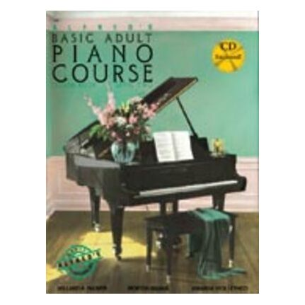 Alfred's Basic Adult Piano Lesson Level 2 Bk/CD