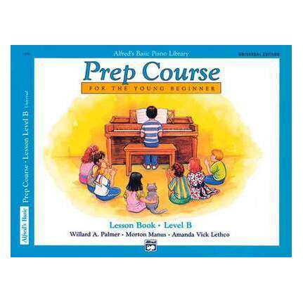 Alfred's Basic Piano Prep Course Lesson Level B Bk/Cd
