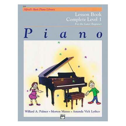 Alfred's Basic Piano Lesson Complete Level 1