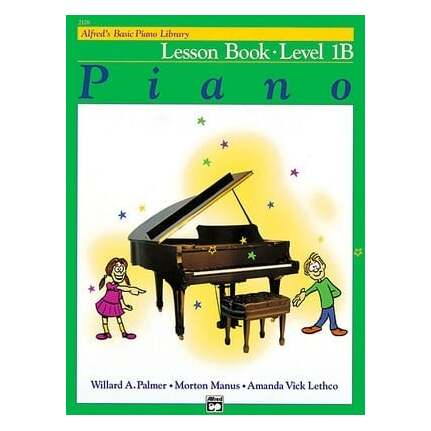 Alfred's Basic Piano Lesson Level 1B Bk/CD