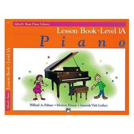 Alfred's Basic Piano Lesson Level 1A Bk/CD