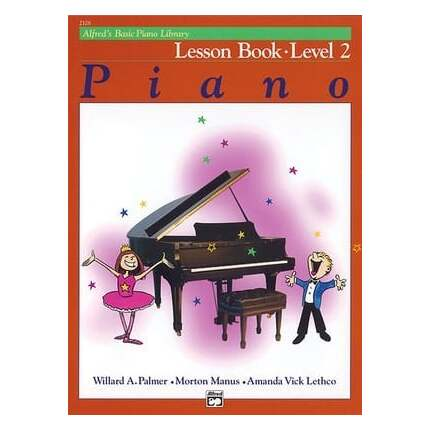 Alfred's Basic Piano Lesson Level 2