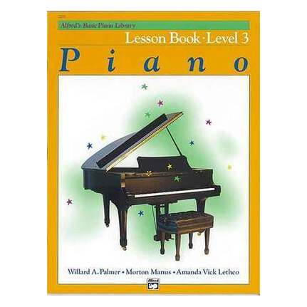 Alfred's Basic Piano Lesson Level 3