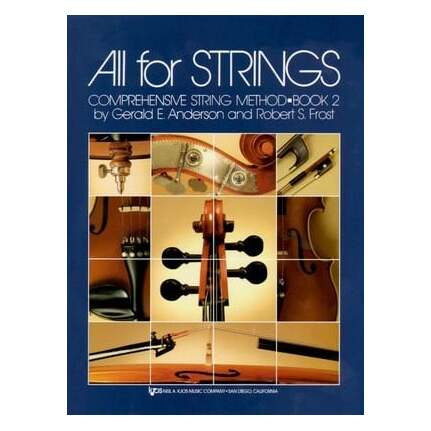 All For Strings Bk 2 Violin