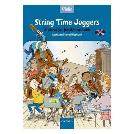 String Time Joggers Violin Bk/CD