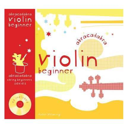 Abracadabra Violin Beginner Bk/CD