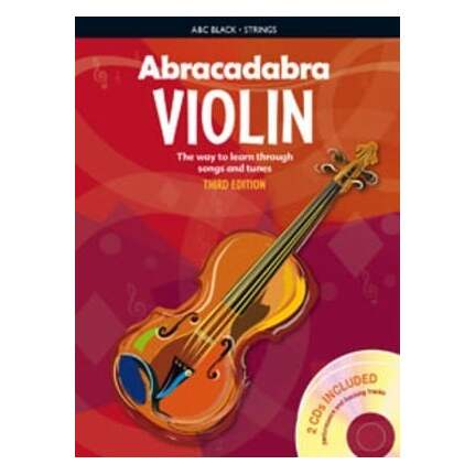Abracadabra Violin Book Bk/CDs 3rd Edition