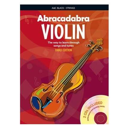 Abracadabra Violin Bk 1 (Book Only) 3rd Edition