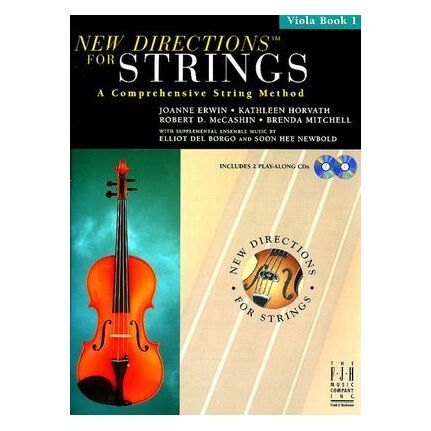 New Directions For Strings Viola Book 1 Bk/CD