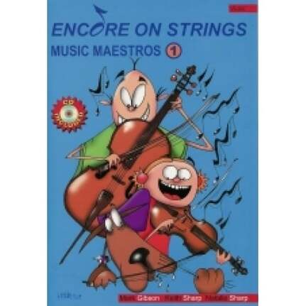 Encore On Strings Book 1 For First Year Viola. Book & Cd