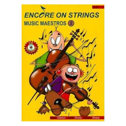 Encore On Strings Viola Level 2 Bk/CD/MIDI Vla