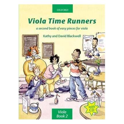 Viola Time Runners Bk/CD