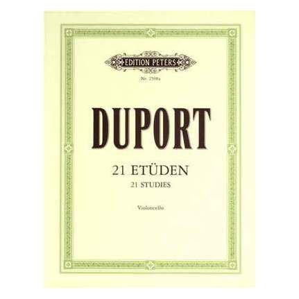 Duport - 21 Studies For Cello
