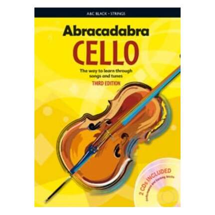 Abracadabra Cello Bk/CDs 3rd Edition