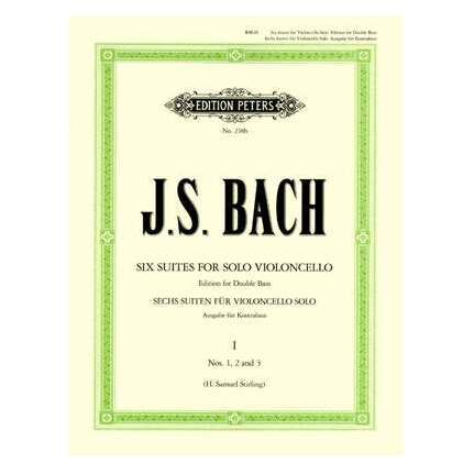 J.S. Bach - Cello Suites Nos 1-3 Arr For Double Bass