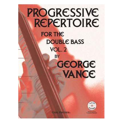 Progressive Repertoire For Double Bass Vol 2 Bk/CD