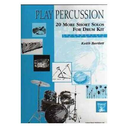 Play Percussion 20 Short Solos For Drum Kit