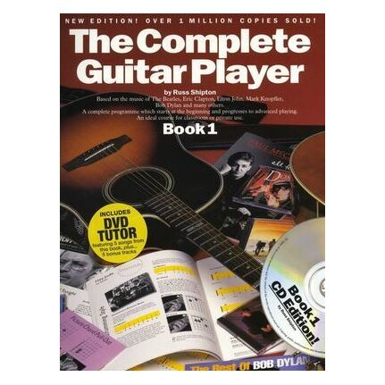 Complete Guitar Player Book 1 Bk/CD/DVD New Edition