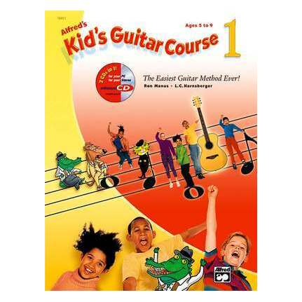 Alfred's Kids Guitar Course 1 Bk/Online Audio