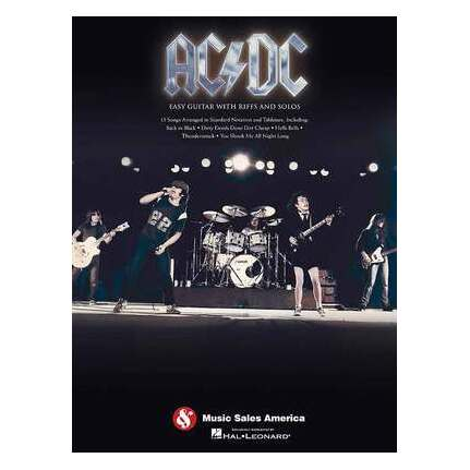 AC/DC Easy Guitar With Riffs And Solos Guitar Tab