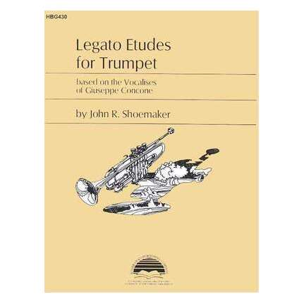 Legato Etudes for Trumpet Based On Vocalises Of Concone
