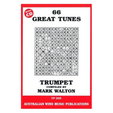 66 Great Tunes Trumpet Bk/CD