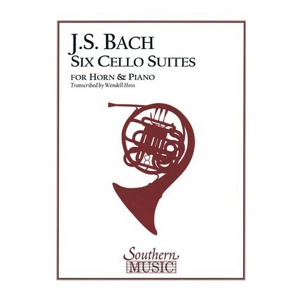 J.S. Bach Six Cello Suites For Horn