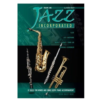 Jazz Incorporated Vol 1 Trombone/Euphonium/Piano