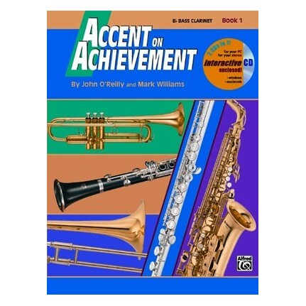 Accent On Achievement Clarinet Book 1 Bk/CD