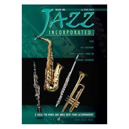 Instruction Books, Cds & Video Jazz Incorporated 2 Bailey Alto Sax Various Styles