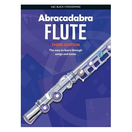 Abracadabra Flute Book Only 3rd Edition