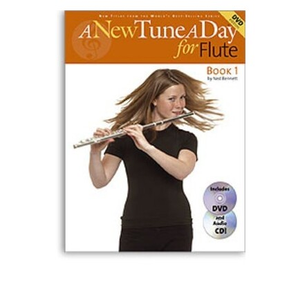 A New Tune A Day Flute Book 1 Bk/CD/DVD
