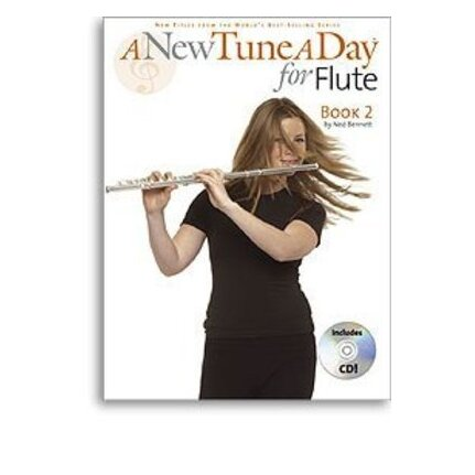 A New Tune A Day Flute Book 2 Bk/CD