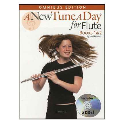A New Tune A Day Flute Books 1-2 Bk/CDs